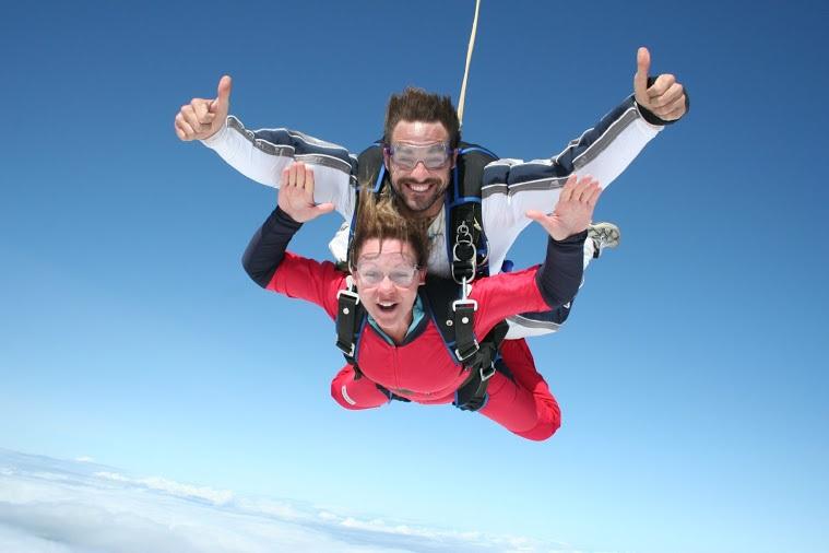 École de parachute Voltige