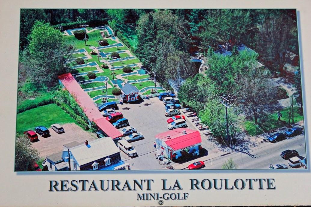 Restaurant La roulotte Mini-Golf
