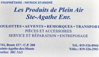 Les Produits de Plein Air Ste-Agathe